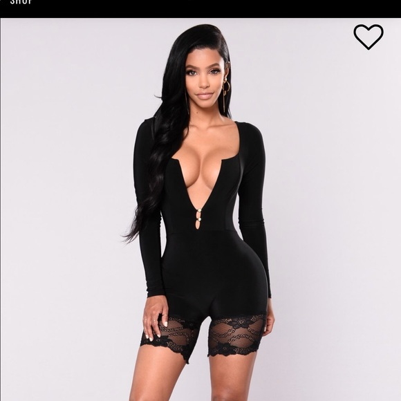 de15e700aa4a5 Fashion Nova Other - Kim K bodysuit in Black
